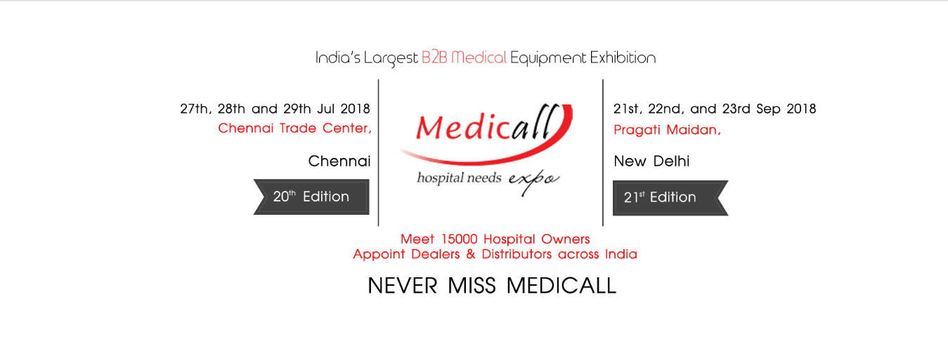 Medical Equipment Exhibition in india with wide range of high quality branded medical equipments